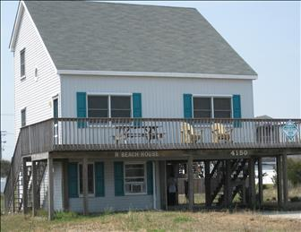 WPM %35120 is located on the 4th lot from the beach in Kitty Hawk