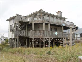 WPM %35107 Sailor Moon is just across the street from the beach with direct access in Kitty Hawk