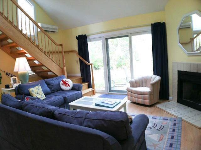 Living Area - Ocean Edge Townhouse with King, A/C & Pool (fees apply) - BI0341 - Brewster - rentals