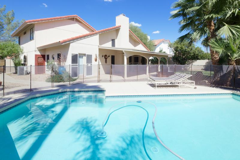 Comfortable family or executive detached home with private pool