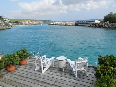 Blue Lagoon view from the private deck