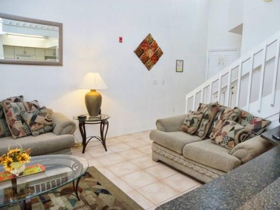 Living Area and Family Room in Mango Key