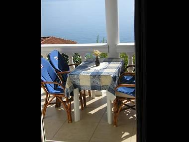 A3 Sime(2+2): covered terrace - 2143 A3 Sime(2+2) - Brist - Brist - rentals