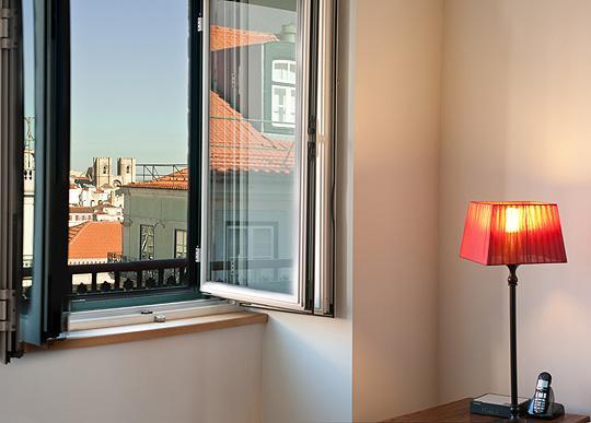 Living Room's Window views - Chiado Apartments - Beautiful Balcony view Lisbon - Lisbon - rentals