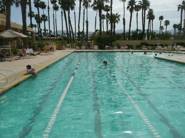 Clubhouse's Olympic Swimming Pool - just a 2 minute walk from condo...other 2 pools 30 second walk