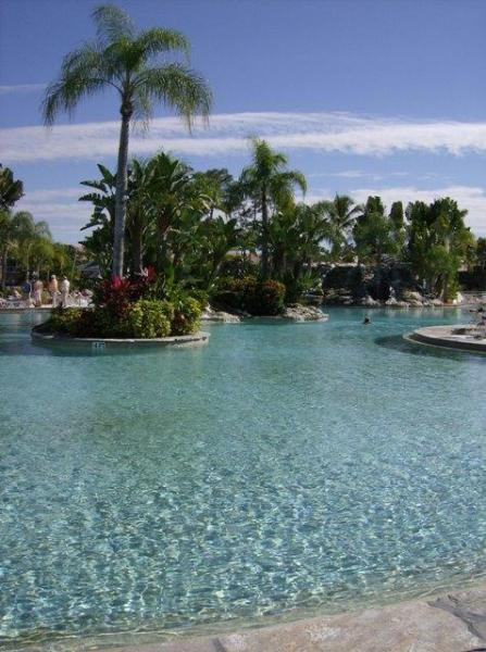 Largest resort style pool in SW Florida