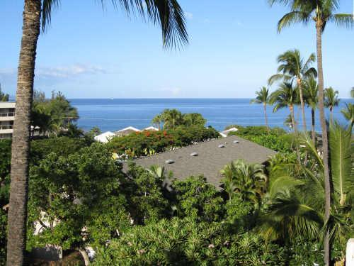 View from Lanai (balcony) Unit C618
