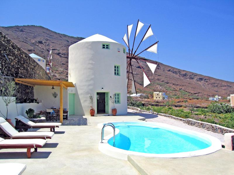 The Green WIndmill - The Green Windmill Villa - Imerovigli - rentals