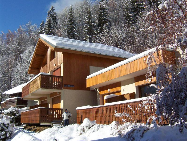 View of apartment building in Winter - Lovely 3 bedroom apartment in Champagny en Vanoise - Champagny-en-Vanoise - rentals