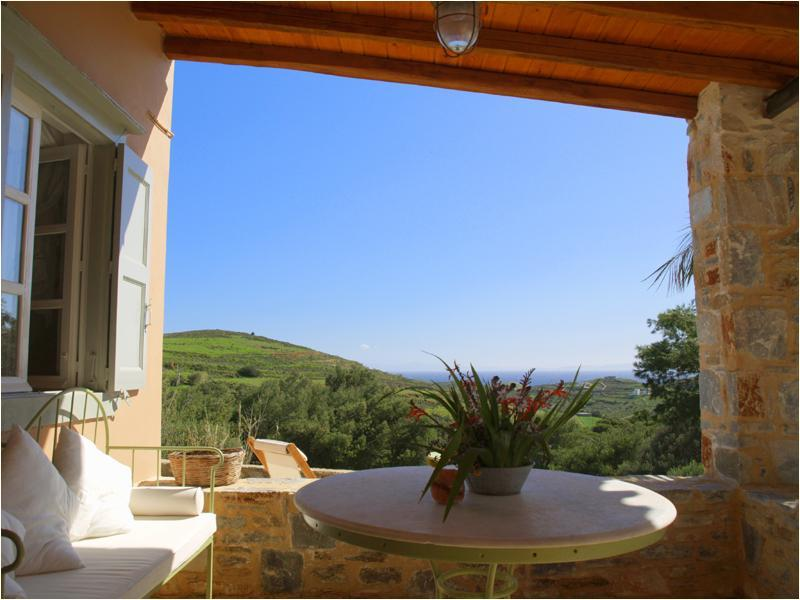 veranta - Beautiful farmhouse on Syros island - Cyclades - Syros - rentals