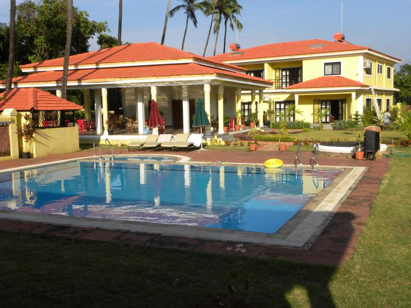 Pool Side View - Goa Casitas Serviced Villa Apparantas in North Goa - Goa - rentals