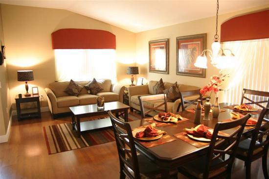 4 Bedroom Vacation Home Living Room & Dining Room