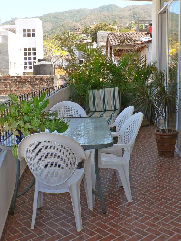Terrace off main BedRm and Living Room