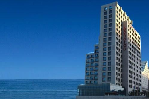 Hotel Leonardo on front of Mediterranean Sea, Haifa