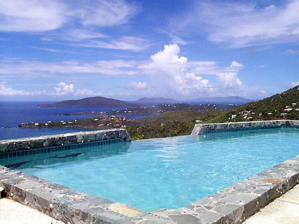 Pool & View at Fantasea - Romantic , Art Lovers Paradise  , Very Private - Saint Thomas - rentals