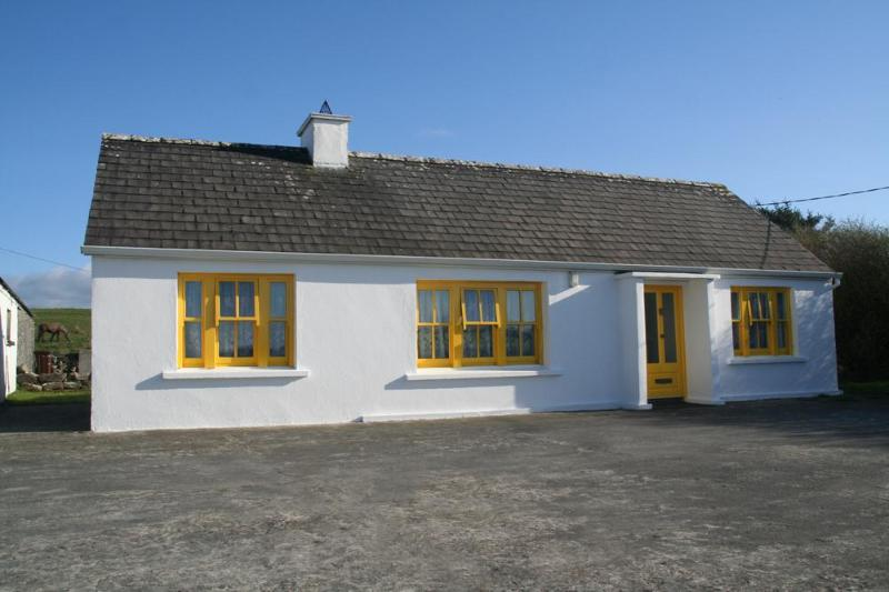 A lovingly restored, 100 year old traditional Irish cottage