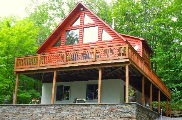 *** The Catskill Cabin *** Luxurious 4-Season Getaway Home