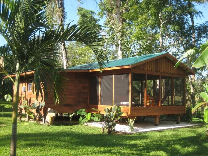 Casita with screened-in verandah