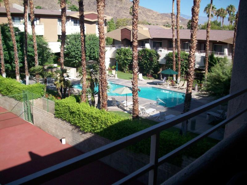 Pool and Spa View from Rear Balcony