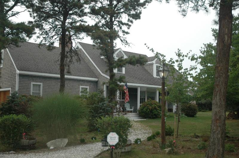 Front of house  - Perfect for a family of 5,  plus 2 grandparents!! - Siasconset - rentals