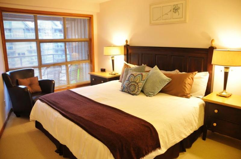 Genuine Ski in/out - best location in Whistler! 3 (three) hot tubs, ski valet, pool, HD TV, FREE internet