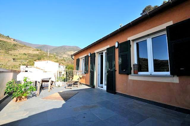 Amazing Large Terrace - Lambiccu - Amazing Luxury Apartment in Manarola - Manarola - rentals