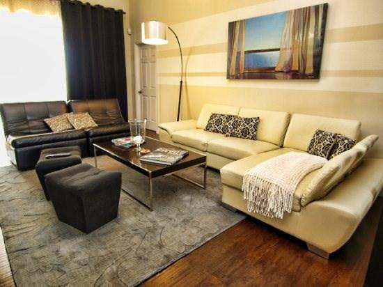 Professionally Decorated Living Room