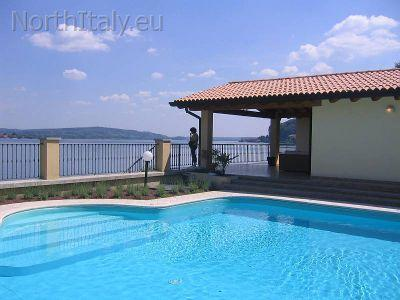 Holiday villa Meina Arona Lake Maggiore Italy - LAKE MAGGIORE - Dream house with pool and beach - Arona - rentals