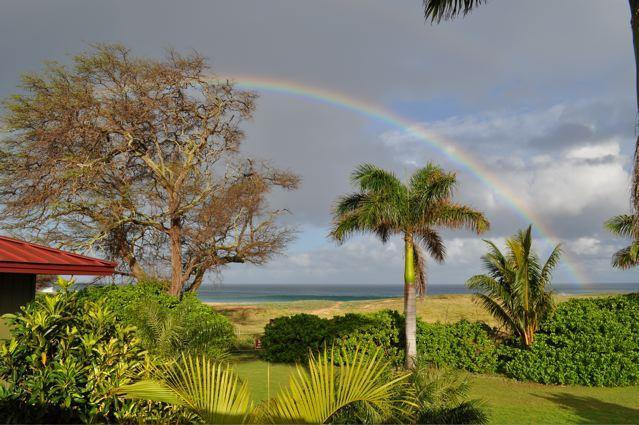 Wake up to a full Rainbow right off of Master Suite\'s deck