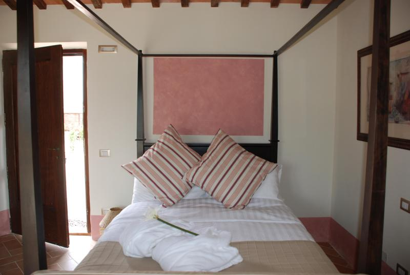 Beautiful four-poster beds
