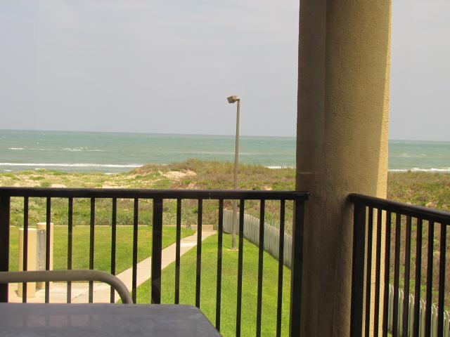 Relax on the balcony overlooking the ocean