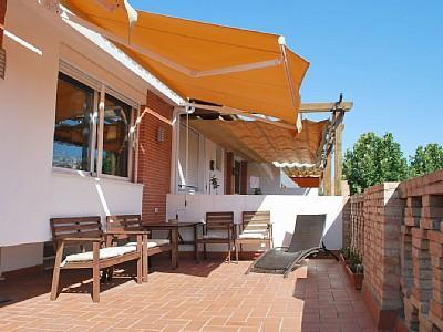 Terrace - Central 3-Bedr Terraced Penthouse. WiFi & Cable TV - Seville - rentals
