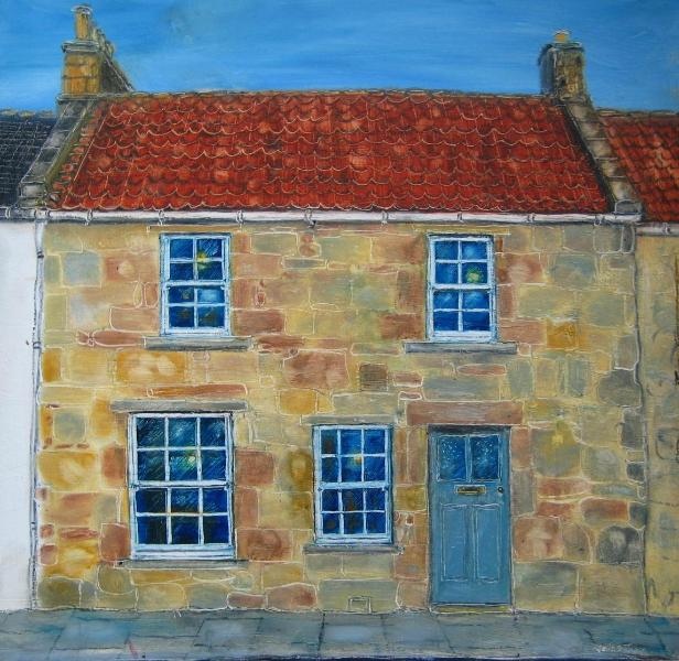 Artists impression of house front.