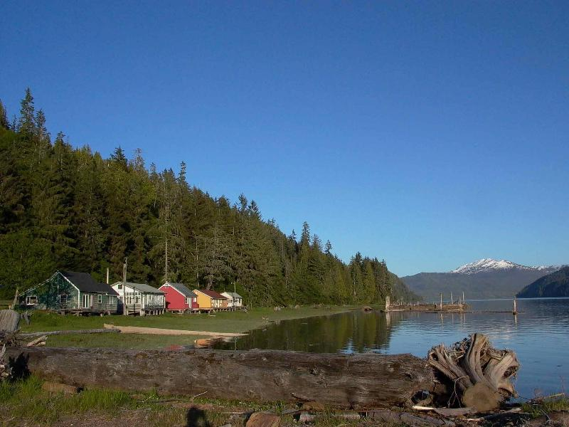 Cassiar Cannery - where history and nature meet