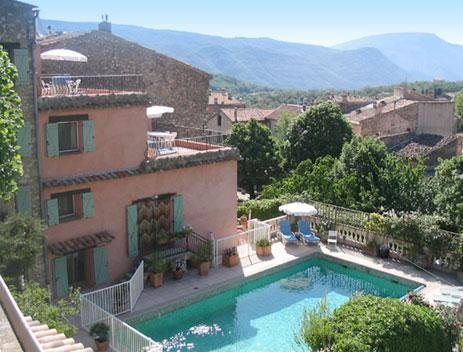 Maison Rose Villa & Apartments - Maison Rose Large Villa with Pool & WiFi - Greolieres - rentals