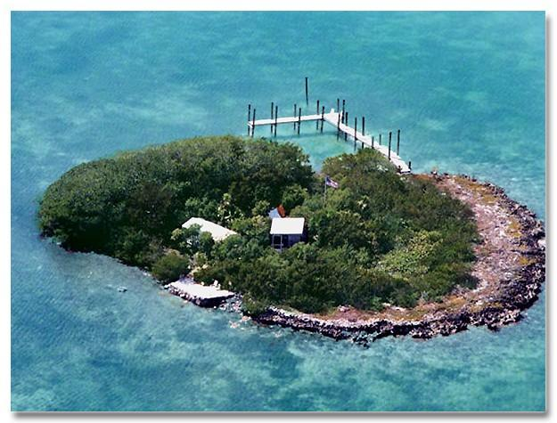 Your Private Island when you rent the 2 bedroom Houseboat