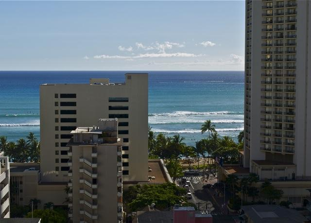 Surf View of Waikiki Beach from your lanai!