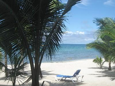 3 Steps off the Veranda - Villa Vista Del Mar...3 steps onto the beach! - Cozumel - rentals