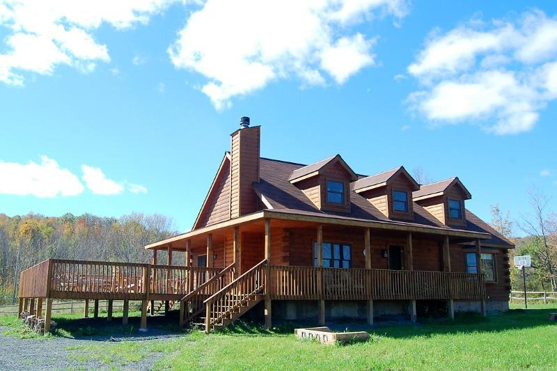 One of our luxury log homes