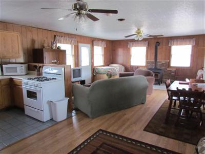 Trading Post living space, very roomy