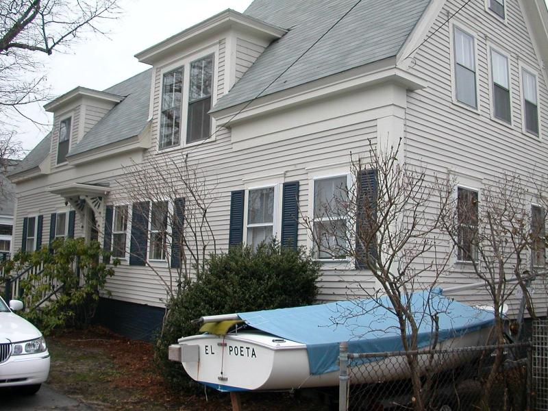 Front of House (Sailboat not Included)