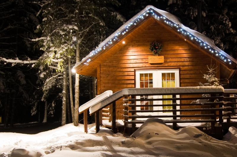 Adventure Chalet in Winter