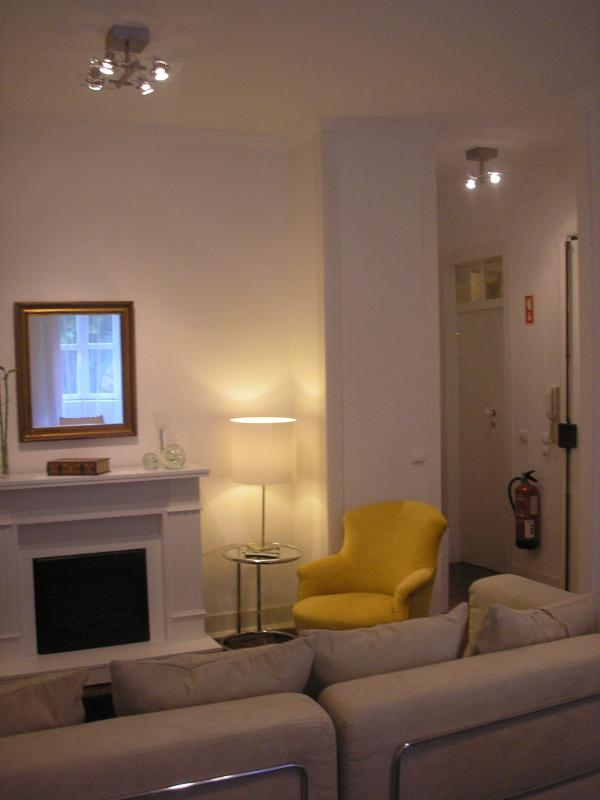 Fireplace - Casa da Fonte - Charming apartments - Cascais - rentals