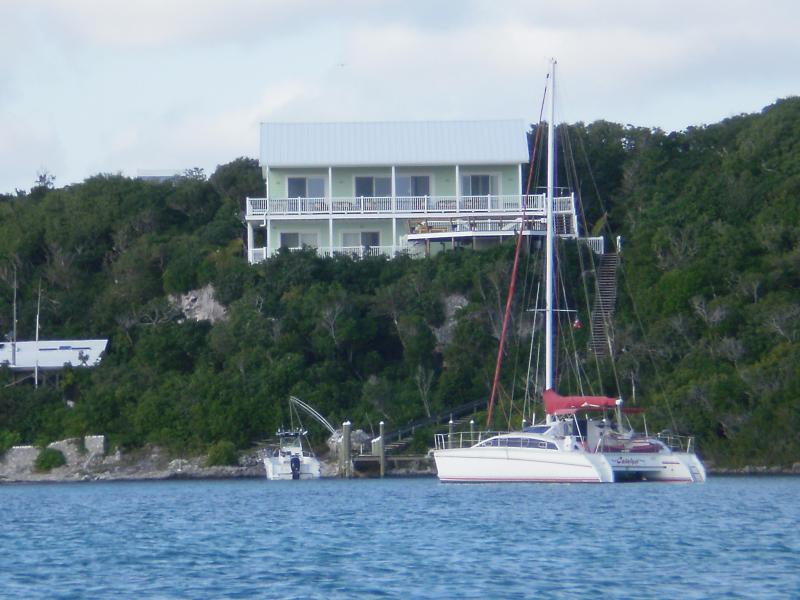 Cliff House seen fro Sea of Abaco