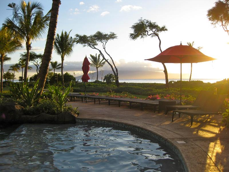 The sunsets from Honua Kai Resort are spectacular. - Beachfront Condo on Kaanapali Beach, REDUCED RATES - Lahaina - rentals