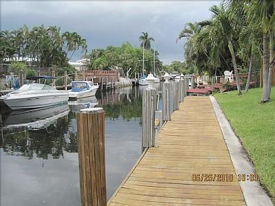 A Look down the Dock