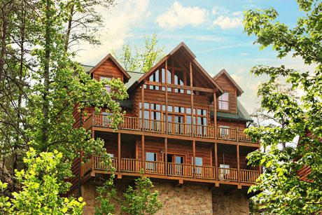Cabin - Pinnacle View an eight bedroom cabin - Sevierville - rentals