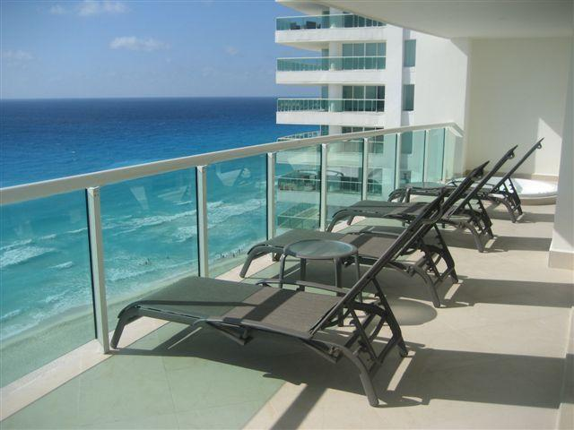 The Best Views in Cancun from Caribbean Facing Patio