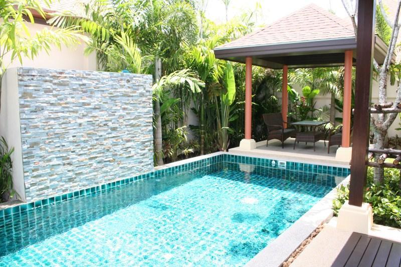 Sala (Gazebo) and private pool with waterfall