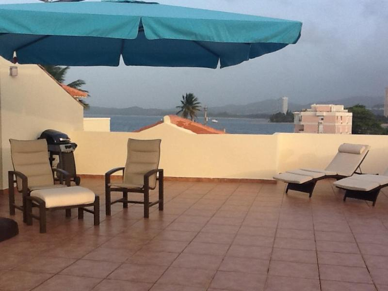 Private Rooftop Terrace - Oceanview side